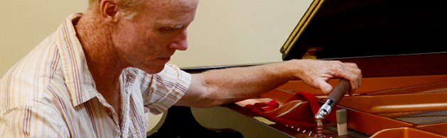 A Picture of Jamie Crickmay - A Melbourne Piano Tuners